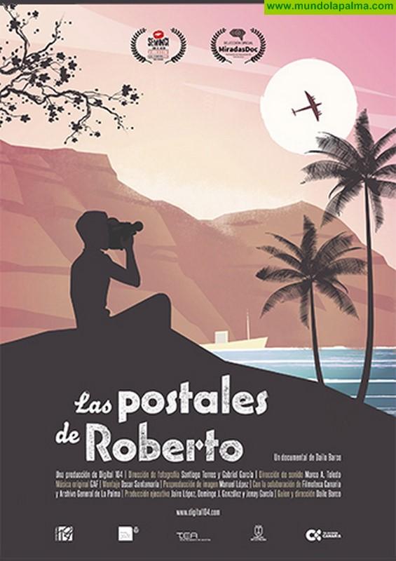 El documental que aborda la figura y legado del artista Roberto Rodríguez Castillo se proyecta en Santa Cruz de La Palma