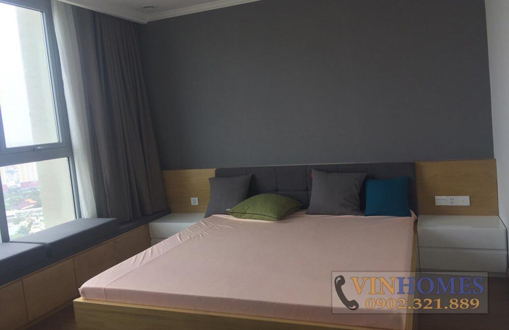 Bán căn hộ 3PN tòa nhà The Central 3 - giường phòng ngủ lớn