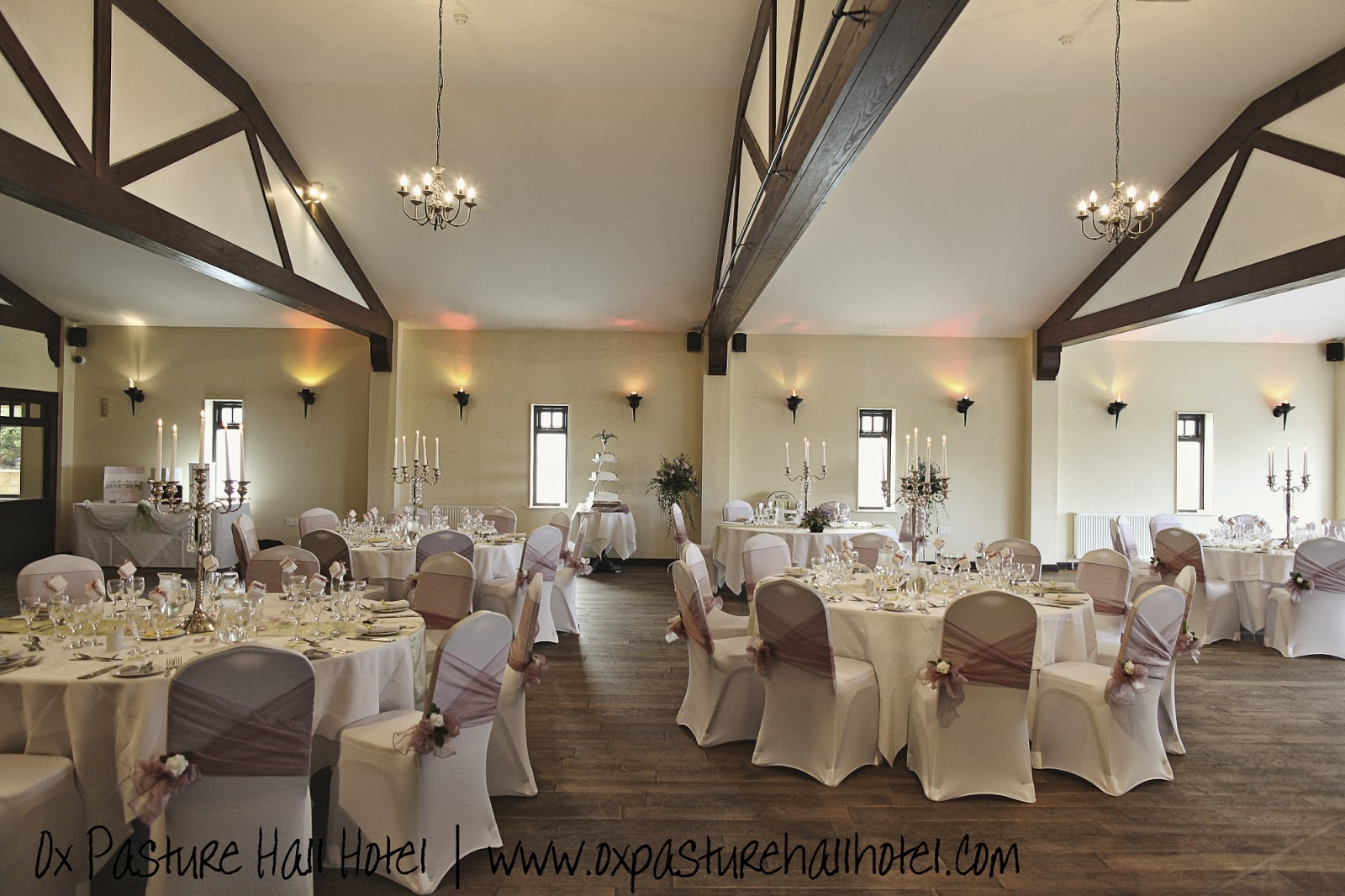 Wedding receptions at Ox Pasture Hall Hotel | Anyonita-nibbles.co.uk
