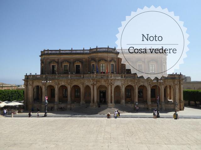 Cosa vedere a Noto: capitale del barocco siciliano. palazzo ducezio