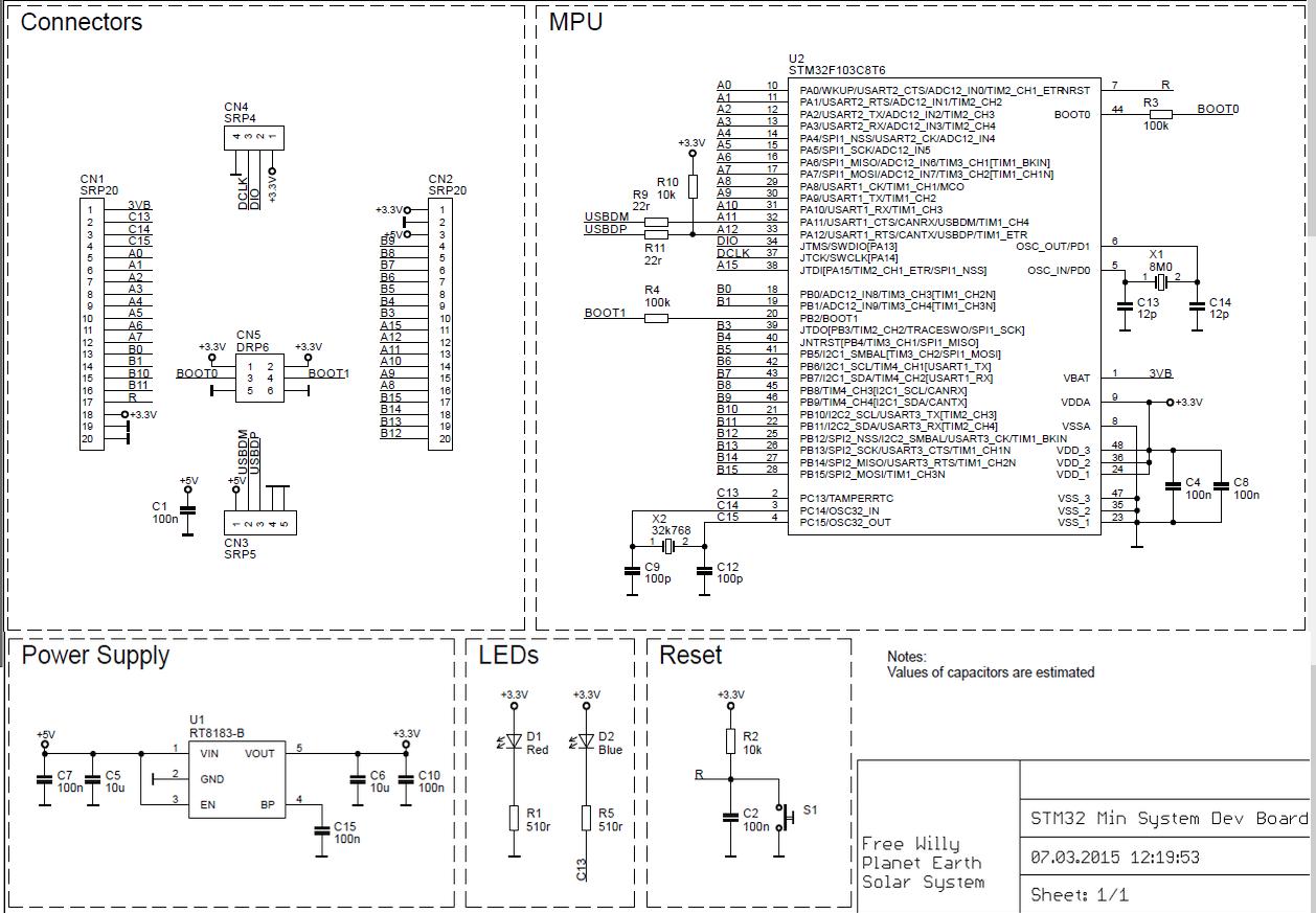 Hackaday Prize Entry: A Cheap STM32 Dev Board | Hackaday