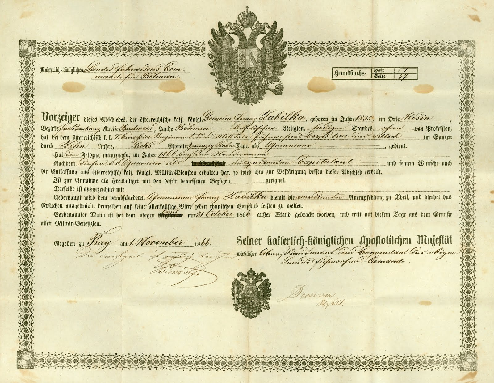 Austro-Hungarian Army Records