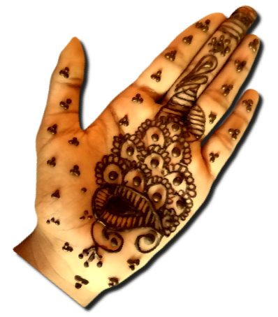 Mehndi Designs for Kids for Front Hand