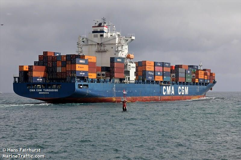 Two Crew Kidnapped from CMA CGM Containership Off Nigeria