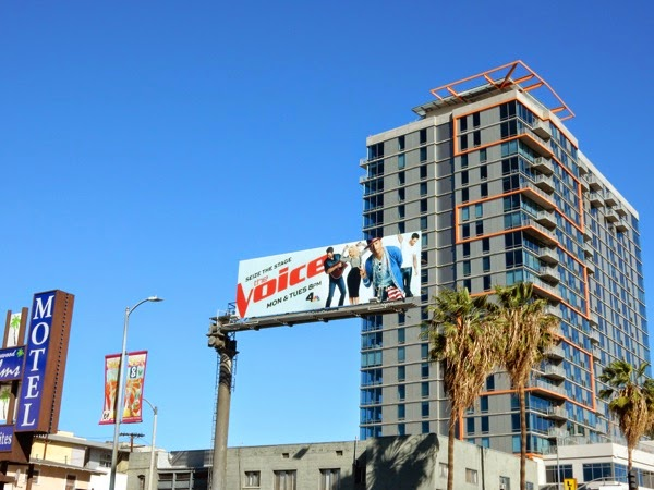 The Voice season 8 billboard