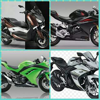 Penjualan motor juli 2017 xmax 250 unggul dari sport 250cc cbr ninja dan r15