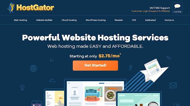 HostGator Powerful Website Hosting Services