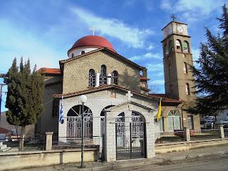 ναός του αγίου Μηνά στο Λέχοβο