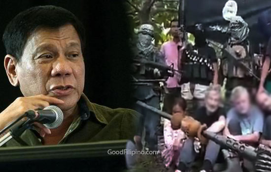 Duterte to Abu Sayyaf: 'Are they willing to talk or just fight it out?'