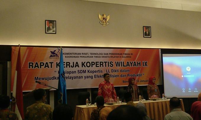 Kopertis IX Sulawesi Dipecah Jadi Dua Lembaga Layanan DIKTI