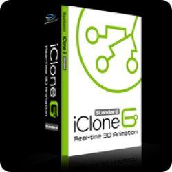 تحميل iClone 6.54 Standard مجانا لصناعة صور 3D