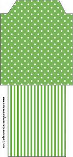 Green and Polka Dots: Free Party Printables.