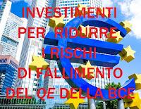 investimenti sicuri col qe della bce