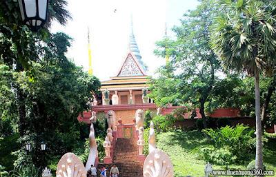 Chùa Wat Phnôm - Chùa Bà Pênh Campodia
