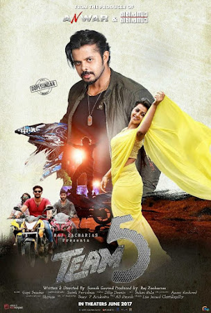 Poster Of Team 5 Full Movie in Hindi HD Free download Watch Online 720P HD