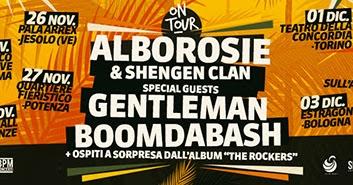 Alborosie in tour in italia, ecco le date con Gentleman e Boomdabash