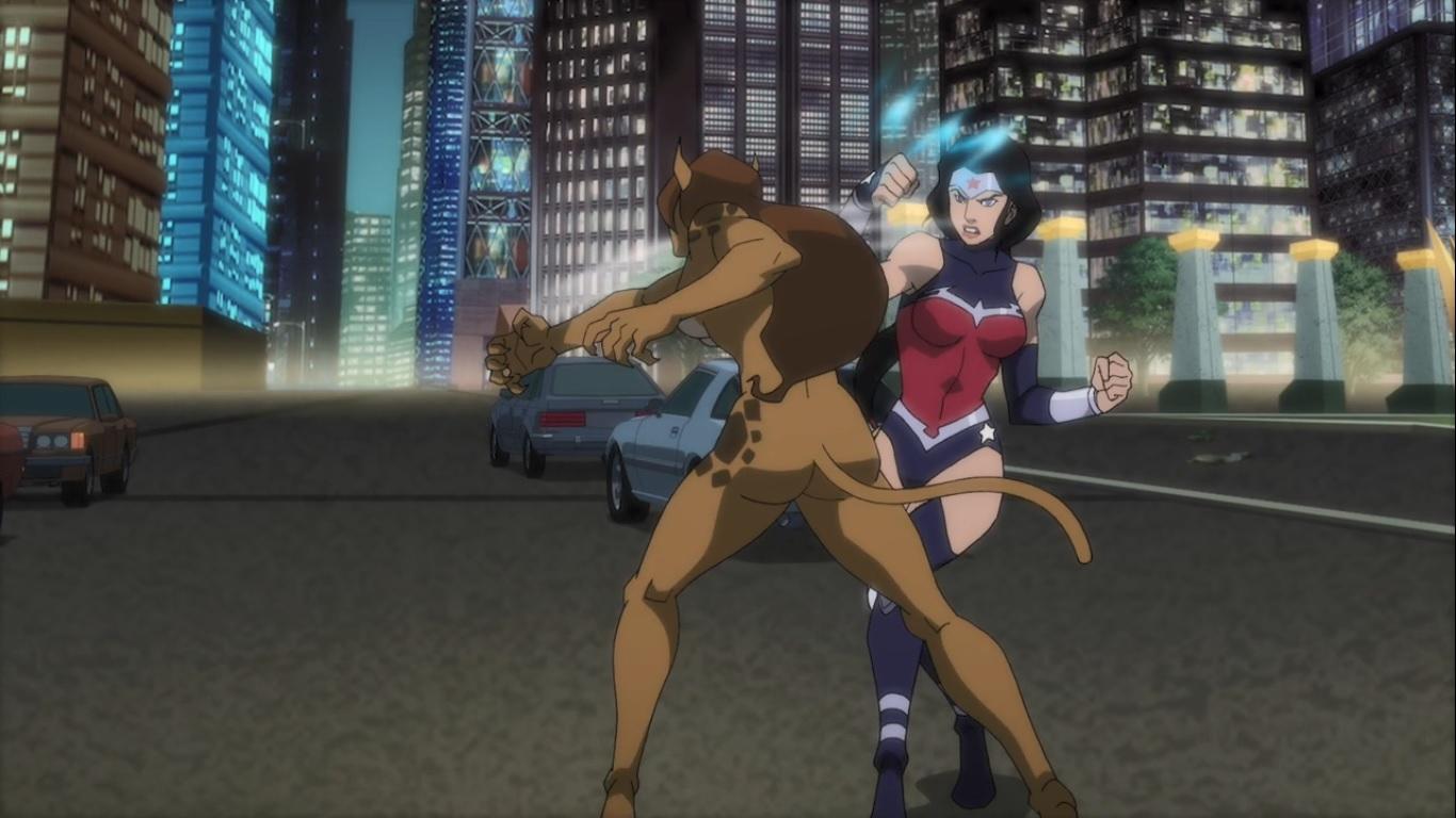 Anime Feet Justice League Vs Teen Titans Cheetah-2966
