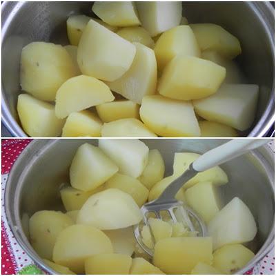 fazer pure de batata