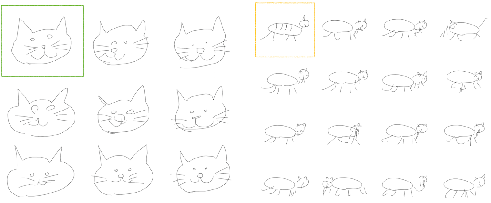 research blog teaching machines to draw