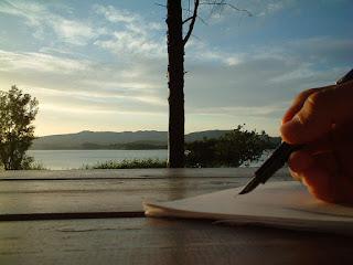 viaggiare e scrivere