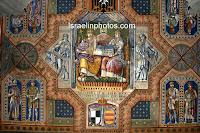 Елеонская гора, Церковь Августы Виктории, Израиль, Иерусалим, картинки, фото, церкви