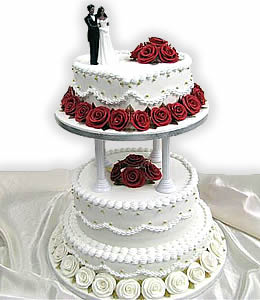 2 tier heart shaped wedding cakes amazing photos of world weeding cakes 10132