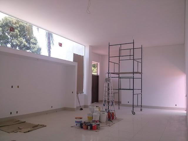 pintura em casas