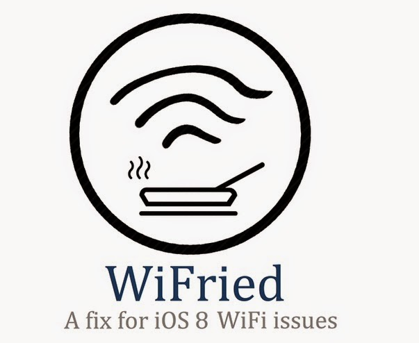 Information about operating systems: iOS 8/iOS 8.1 Wi-Fi