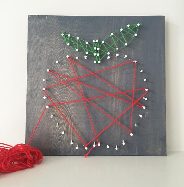 Sarah M Style Lets Get Crafty Diy Apple String Art Free