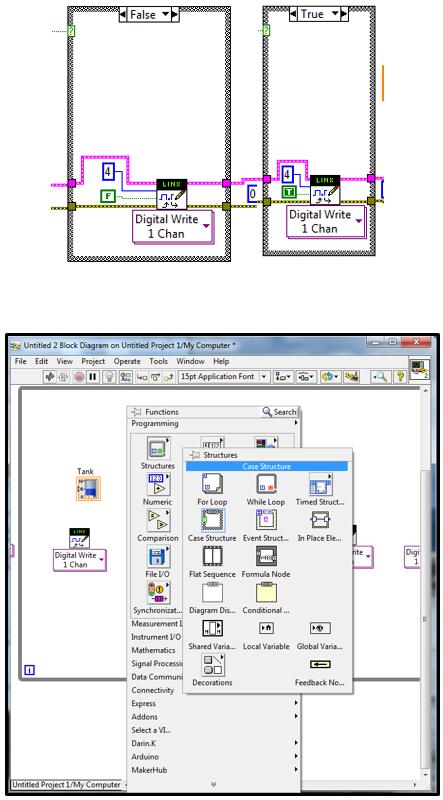 Gambar 3 71 Langkah 12 Pembuatan Program