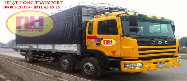 xe tải chuyển hàng đi Hà Nội