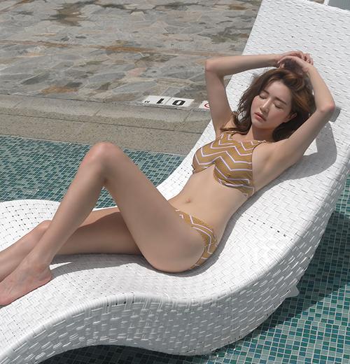 Chevron Pattern Bikini