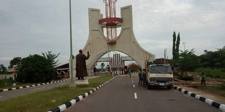 Check out the new look of Unizik School gate