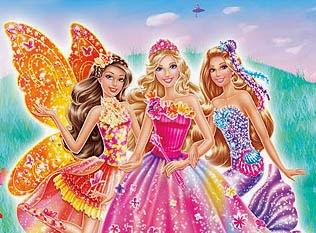 Pegostes y Colores: DVD: Barbie y La Puerta Secreta