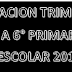 PLANEACIÓN PRIMER TRIMESTRE DE 1° A 6° PRIMARIA CICLO ESCOLAR 2018-2019