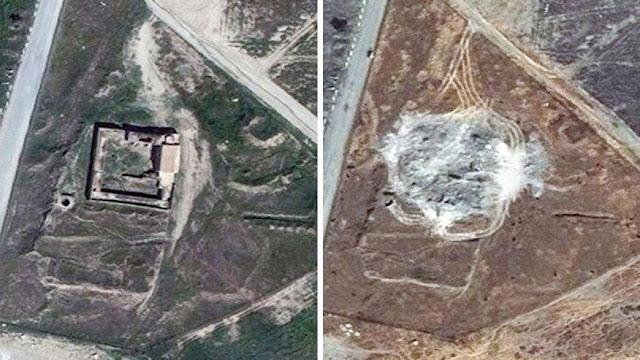 ISIS Hancurkan Biara Katolik Tertua Berusia 1.400 Tahun di Irak