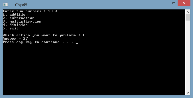 Write a program in c to swap two numbers