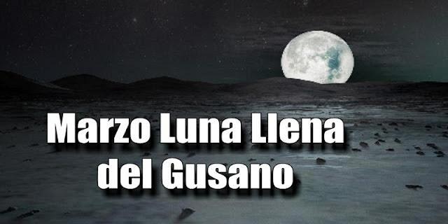 Luna Llena de gusano, la ultima Superluna del 2019