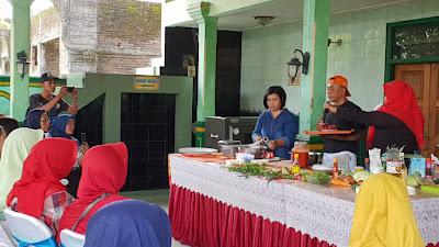 """Budi Susilo buka kelas masak di acara """"Purworejo Food Fest"""" dengan menu Internasional"""
