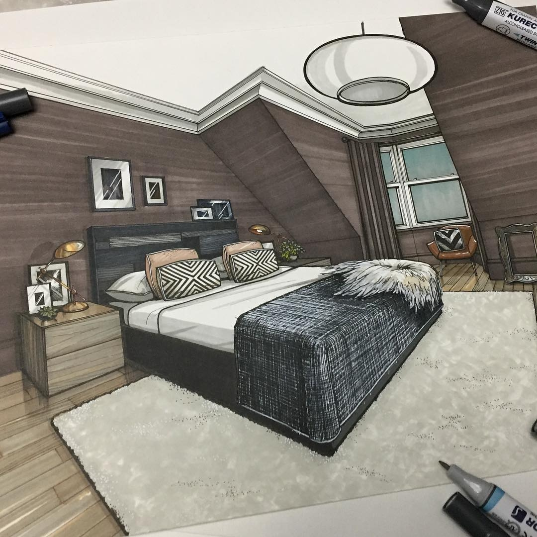 11-Master-Bedroom-Malcolm-Begg-Interior-Design-Drawings-of-a-Victorian-House-www-designstack-co