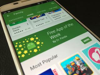 Google Akan Memberi Aplikasi Android Secara Gratis Setiap Minggunya