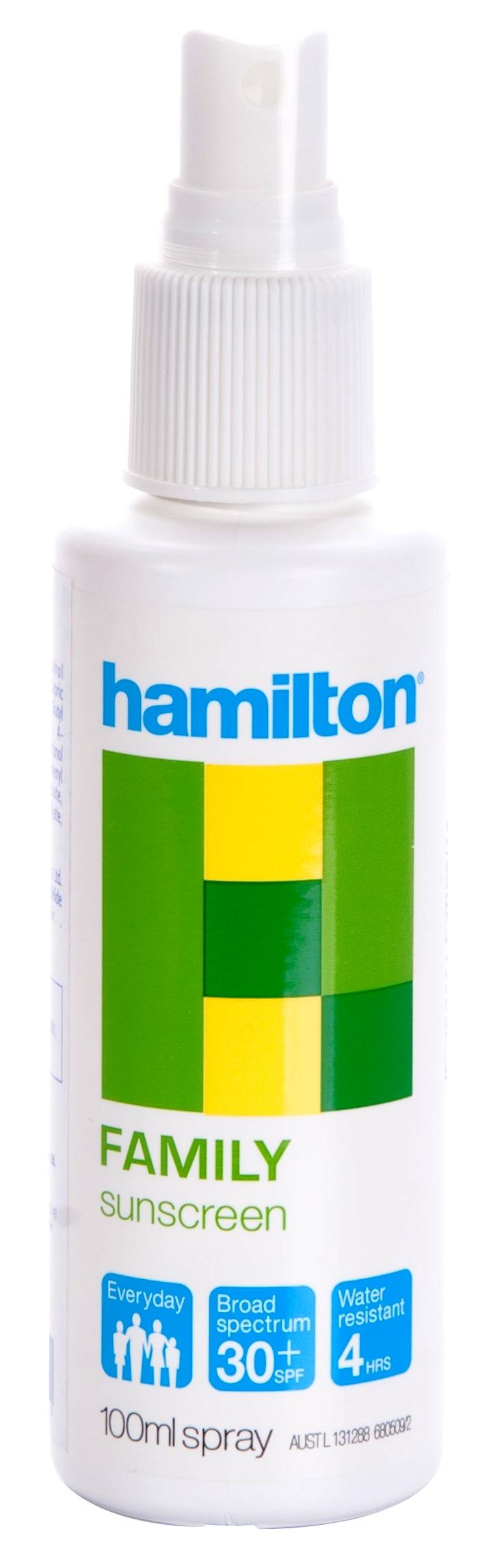 Hamilton Güneş Kremi