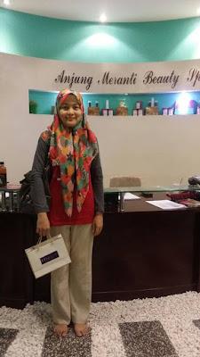 Aviderm Memang mendapat Sambutan di Anjung Meranti Beauty Spa Senawang