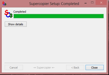 Supercopier 3.0.0.1 Final Español + Portable 2013