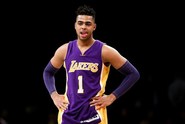 D'Angelo Russell: Saya Mengalami Banyak Hal Dengan Lakers