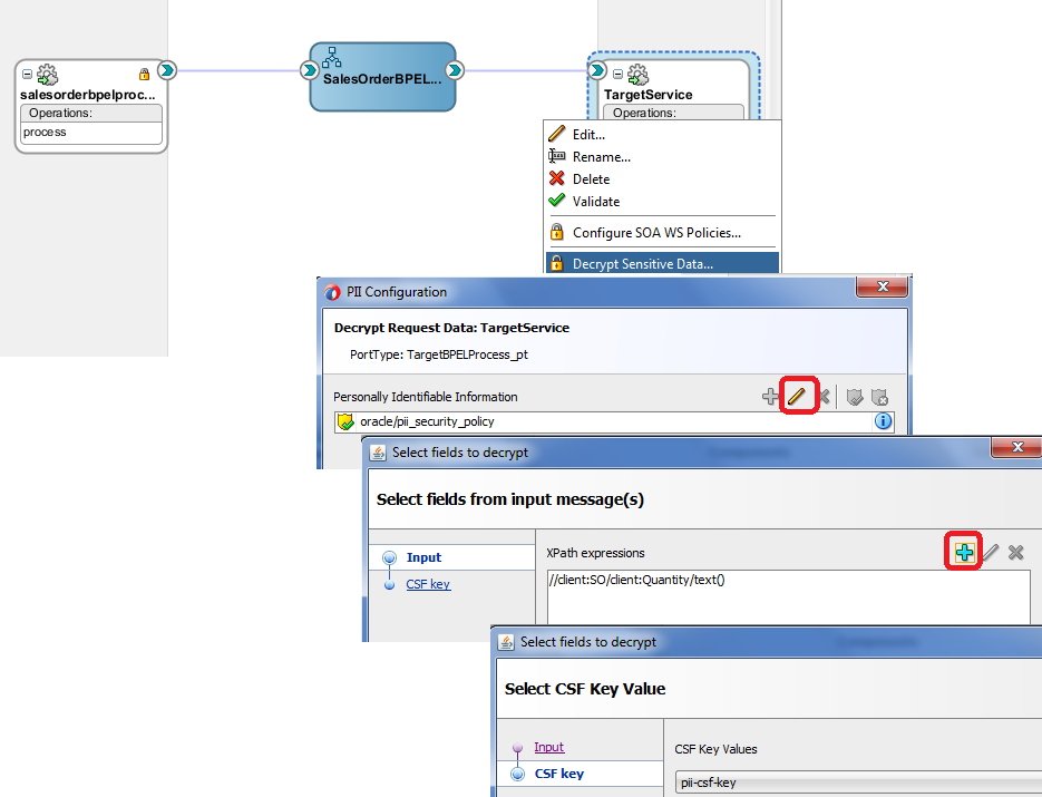 SOA 12c - Encryption and Decryption of Sensitive Data - Oracle