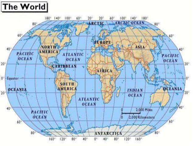Ang mga Kontinente  Araling Panlipunan 8
