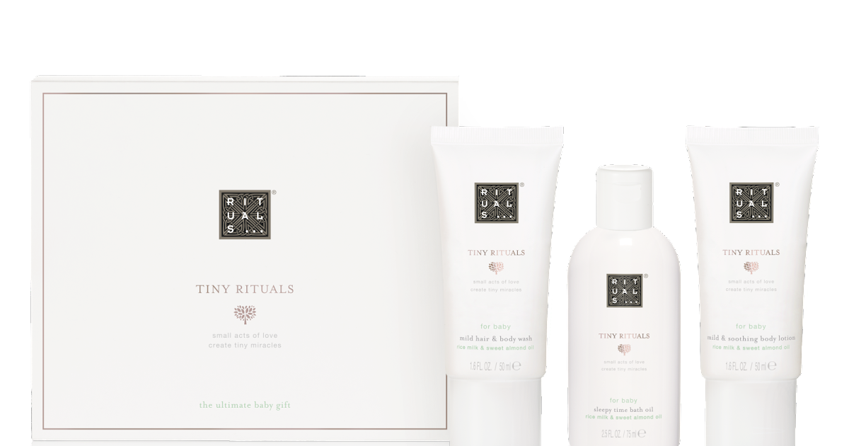 8a077836341ed My sweet valentine  RITUALS presents  Tiny Rituals a collection dedicated  to new mums and babies