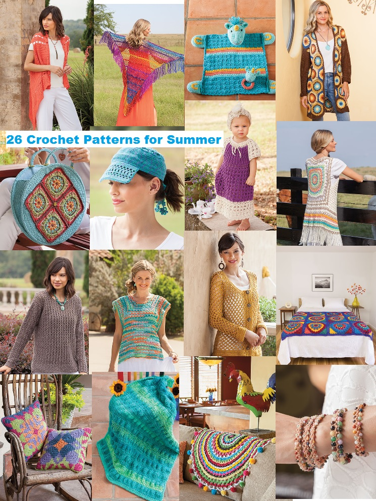 26 Modern-day, Boho-Chic Crochet Patterns to Crochet for Summer