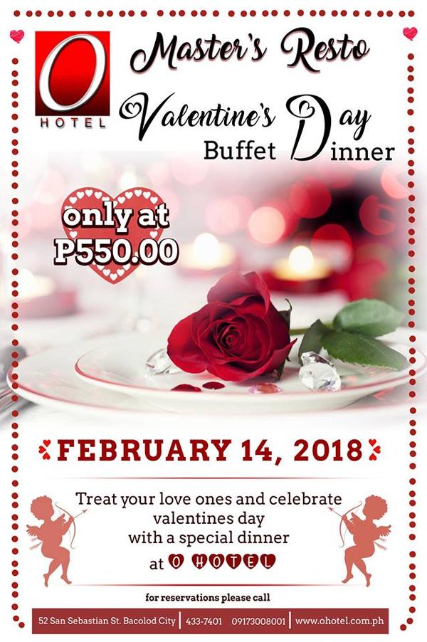 O Hotel - Bacolod restaurant - Valentine dinner